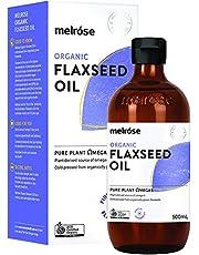 MELROSE Organic Flaxseed Oil, 500 ml