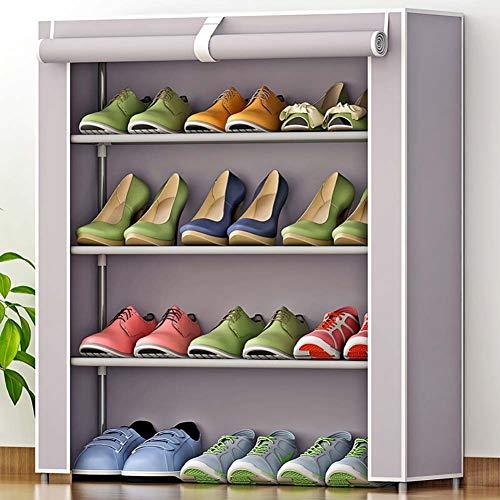 De El Fácil Zapatero Hogar Nivel Capas Violeta 7 A Para Shoe Varias 8 5 Zapato Almacenamiento 6 Simple 4 Rack Instalar zapatero xvnw7XA