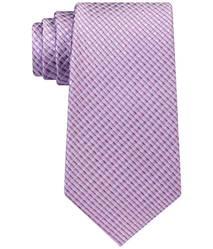 (Kenneth Cole REACTION Men's Shaded Natte Tie, Pink, One Size )