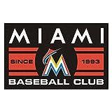 FANMATS 18473 Florida Marlins Baseball Club Starter Rug