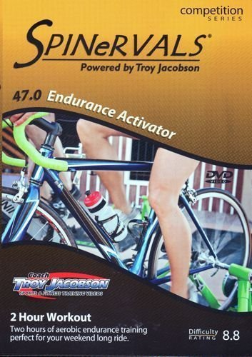 Spinervals Competition Series 47.0 Endurance Activator DVD - Region 0 worldwide by Troy Jacobson