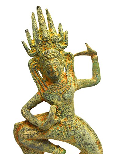 Sarah Coventry Chain (Asian Art Home Decor Art Khmer Angkor Cambodian Buddha Statue Nang Teap Apsorn Figurine Dancing)