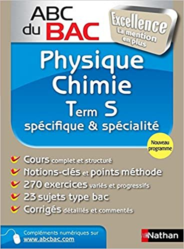 abc excel physique chimie terminale s spe & spe (French) Paperback