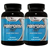 Perform XT Twin Pack by AI Sports Nutrition | Male Enhancement Pills and Libido Booster For Men 2x 30 Serving Bottle