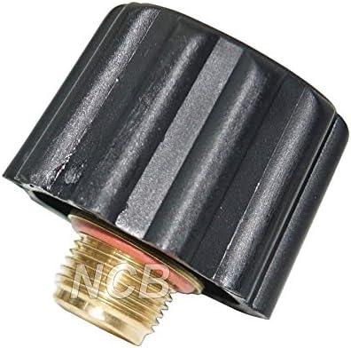 Boquilla de llenado negra para Laurastar Serie E y GO