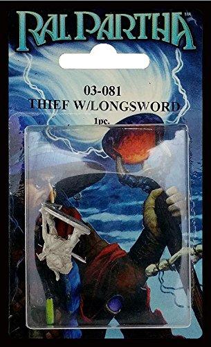 Ral Partha 03-081 Thief with Longsword in Ambush