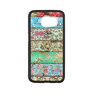 AKERCY Painted Flower Phone Case For Samsung Galaxy S6 G9200 [Pattern-6]