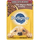 PEDIGREE Choice Cuts Filet Mignon Flavor in Gravy ...