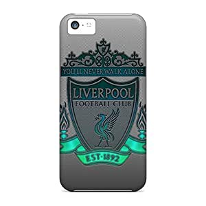New Arrival Case Specially Design For Iphone 5c (liverpool Logo)