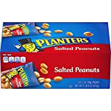 Planters Salted Peanuts, 24 count, pack of 2