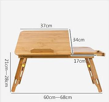 Khskx Mode Bureau Ordinateur Portable Mobil Home Lit Bureau Table