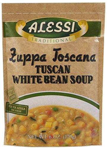 Alessi Zuppa Toscana Tuscan White Bean Soup - 6 (White Bean Soup Recipe)