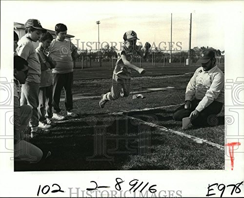 1989 Press Photo Physical Fitness Tournament at Muss, used for sale  Delivered anywhere in USA