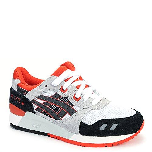 White US 0190 Asics H518N III Gel Sneakers Mens Black Lyte wnnq6O07