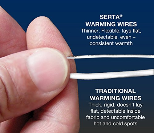 Serta   Luxurious Heated with Safe Low-Voltage