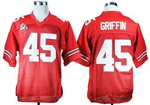 Generic Men's Archie Griffin 45 Ohio State Buckeyes College Football (Ohio State Buckeyes Sugar)