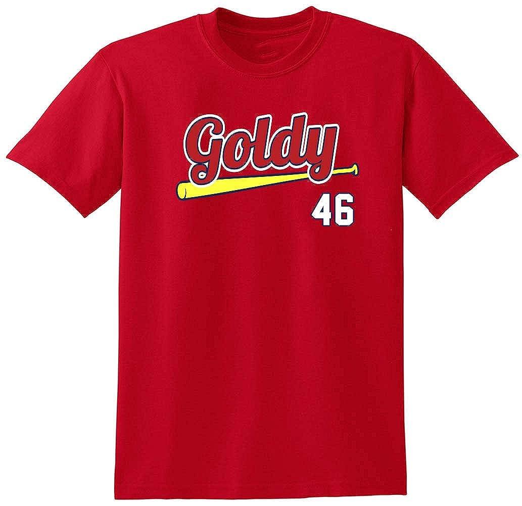 ade761c36e4 Amazon.com  RED St Louis Goldschmidt Goldy T-Shirt  Clothing