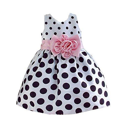 Vlunt Maedchen Hochzeit Party Kleid Kind Baby Kleid fuer 1-9 Jahre 90cm-160cm