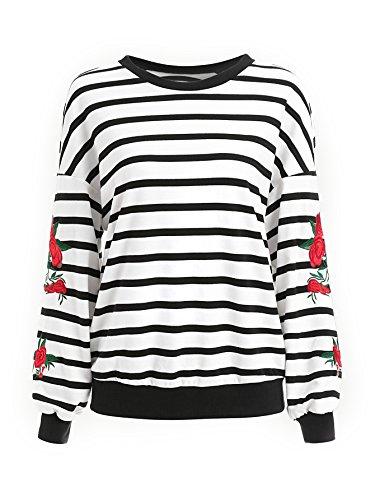 Crew Embroidered Sweatshirt - 4