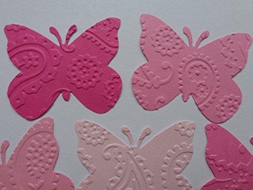 12 Butterfly Die Cut//Punch Scrapbook Embellishments//Cardmaking//Weddings
