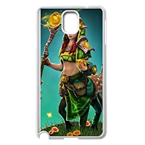 Samsung Galaxy Note 3 Cell Phone Case White Defense Of The Ancients Dota 2 ENCHANTRESS 004 LWY3553003KSL