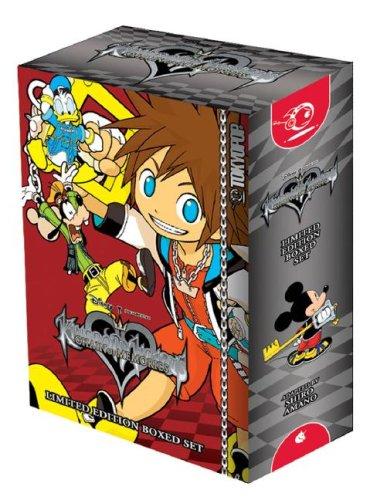 Kingdom Hearts: Chain of Memories Boxed Set (v. 1 & 2)
