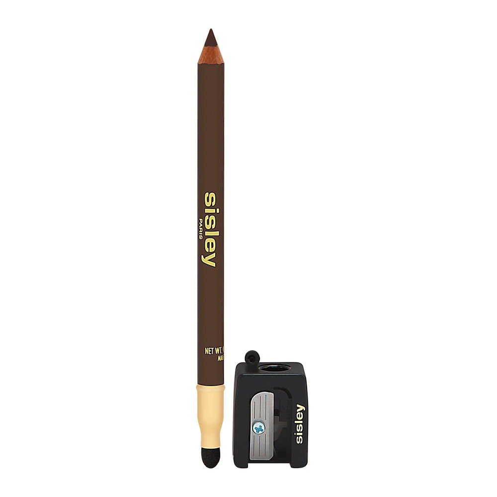 Sisley Phyto Khol Perfect Eyeliner with Blender and Sharpener for Women, 10 Ebony, 0.05 Ounce
