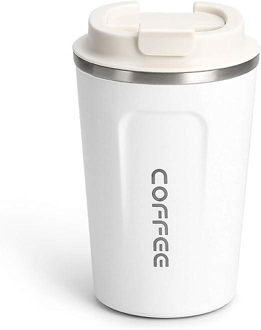 500 ml Reisebecher Kaffeebecher Teebecher NEU Thermobecher EDS doppelwandig ca