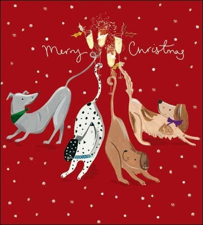 Pack of 5 Bottoms Up Alzheimers Society Charity Christmas Cards Xmas Card Packs: Amazon.es: Oficina y papelería