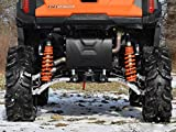SuperATV Heavy Duty Arched Rear Offset A-Arms for