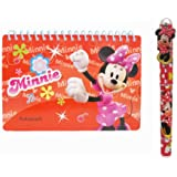 Disney Minnie Mouse Autograph Book Red and 1 Pen