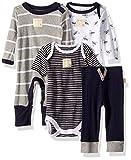 Burt's Bees Baby Unisex 4-Piece Clothing