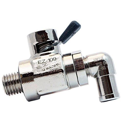 Drain Quick (EZ-109(12mm-1.5) EZ Oil Drain Valve with removable L-Shape Hose End(L-001) Combo)