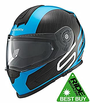 Schuberth S2 Sport/Touring DVS Casco integral de moto Drag Azul S 54/55