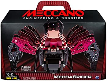MeccaSpider Robotic Programmable Toy w/ Built-In Games