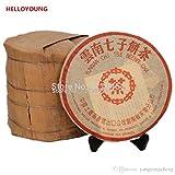 Made in 1985 pu er tea 357g oldest puer tea ansestor antique honey sweet dull-red Puerh ripe tea ancient tree