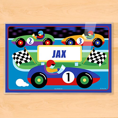 Olive Kids Vroom Personalized Placemat ()