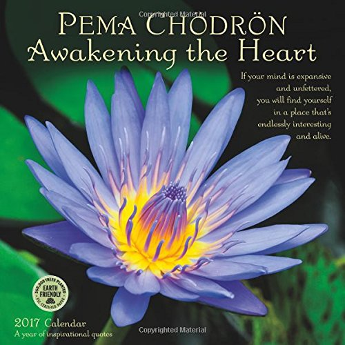 Pema Chodron 2017 Wall Calendar: Awakening the Heart — A Year of Inspirational Quotes