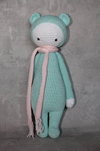 Crochet Bear PATTERN - Amigurumi Toy Tutorial - Little Teddy Bear ... | 500x333