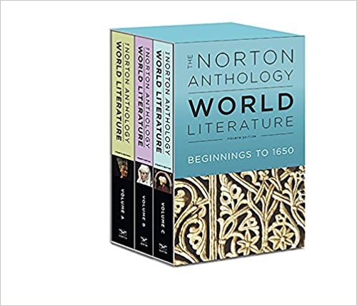 norton anthology of world literature 4th edition shorter