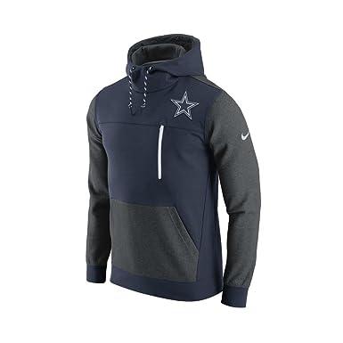 Nike Dallas Cowboys Av15 Fleece Po Chaqueta, Hombre, Azul ...