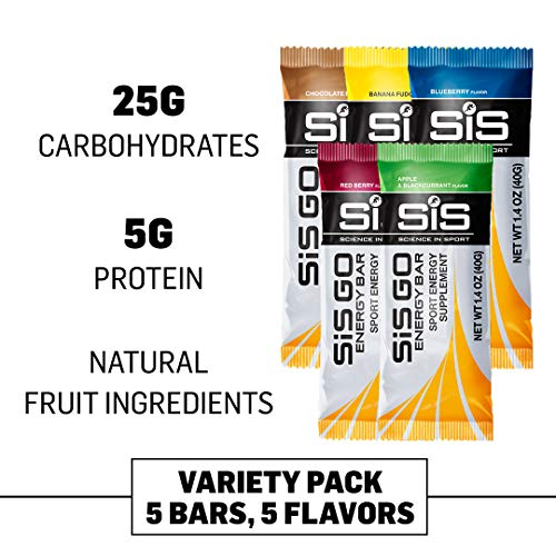 (Science in Sport Go Energy Bar, Variety Pack 5, 200 Gram)