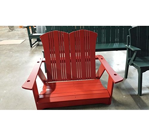 Uwharrie Chair Co C052-19-Hunter-Dist-Pine Carolina Preserves Swing, (Uwharrie Swing)