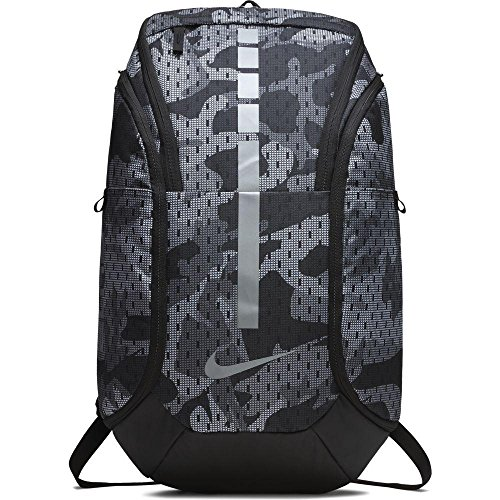 (Nike Hoops Elite Hoops Pro Basketball Backpack Gunsmoke Grey/Black/Cool Grey,One Size)