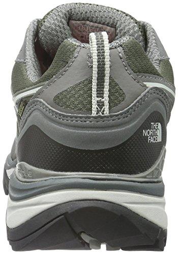 North Face M Hedgehog Fastpack GTX (EU), Hombre Zapatillas de trail running Verde / Gris