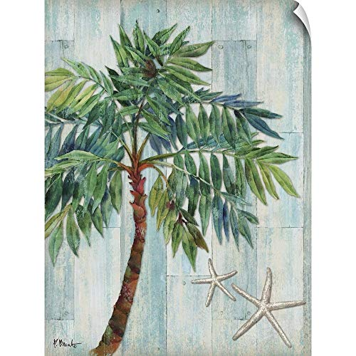 CANVAS ON DEMAND Clearwater Palm I Wall Peel Art Print, 18