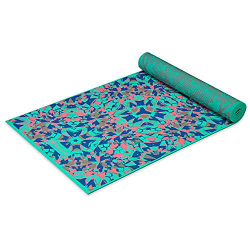 Gaiam Print Premium Reversible Yoga