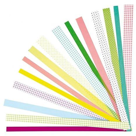 168 Streifen zum Flechten folia 129501 Falten und Quillen Papierstreifen Basic
