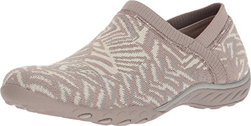 Skechers Womens Memory Foam Espadrille Loafer Sneakers Taupe/natural US 6 (Skechers Sport Womens Empire Inside Look Fashion Sneaker)