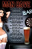 Man Cave Rules Poster (24.00 x 36.00)